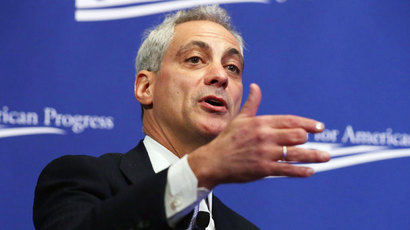 Chicago Mayor Rahm Emanuel.(AFP Photo / Chip Somodevilla)