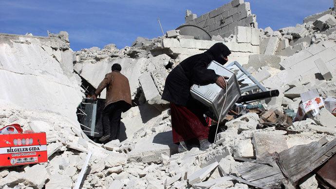 UN urges Syrian govt, rebels to halt war crimes against civilians
