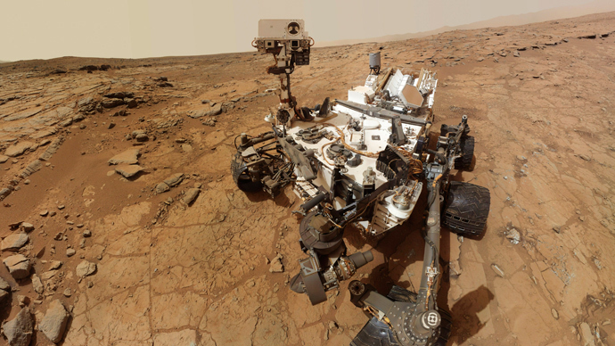 NASA's Mars rover Curiosity (Reuters / NASA / Handout)