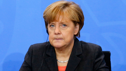 German Chancellor Angela Merkel (Reuters / Tobias Schwarz)