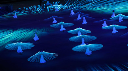 Dancers perform during the opening ceremony of the 2014 Sochi Winter Olympics, February 7, 2014 (Reuters / Mark Blinch)