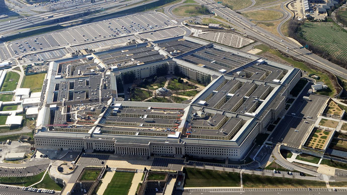 Pentagon building in Washington, DC.(AFP Photo / STAFF)