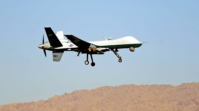 USAF MQ-9 Reaper (AFP Photo / USAF / Staff Sgt. James L. Harper Jr.)