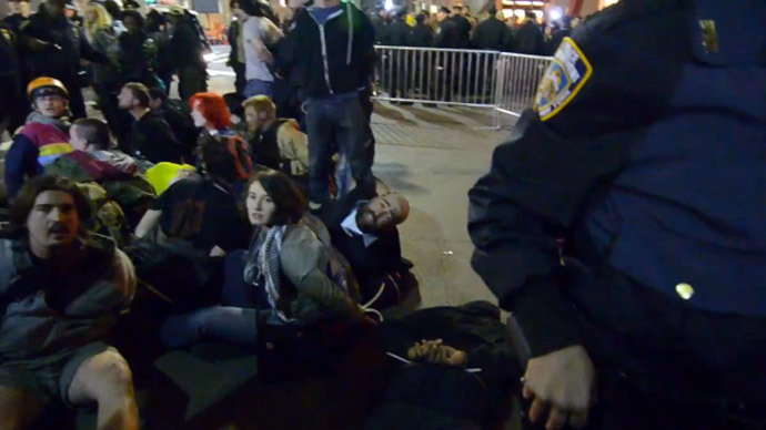 Occupy activist beaten, arrested by NYPD faces 7 years in prison