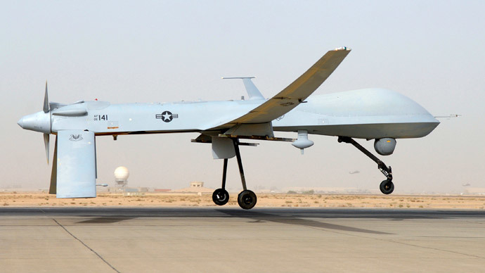 An MQ-1B Predator.(Reuters / U.S. Air Force photo by Senior Airman Julianne Showalter)