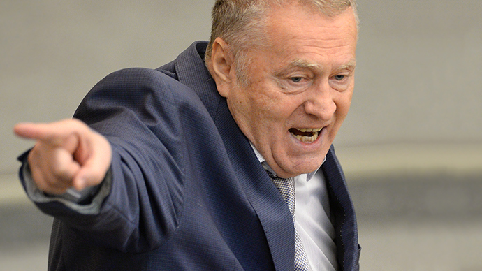 LDPR faction leader Vladimir Zhirinovsky during a plenary meeting of the Russian State Duma. (RIA Novosti / Ramil Sitdikov)