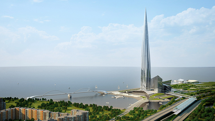 The design of Lakhta Center.  (Image from proektvlahte.ru)