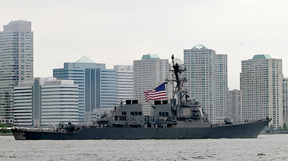 The USS Donald Cook (DDG 75) (AFP Photo / Getty Images / Allison Joyce)
