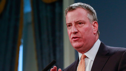 New York Mayor Bill de Blasio (Reuters / Shannon Stapleton)