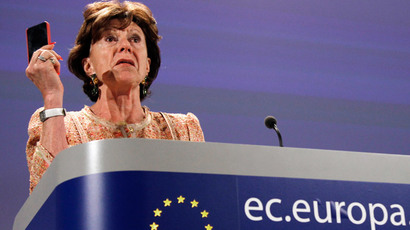 European Commission Vice President Neelie Kroes (Reuters / Yves Herman)
