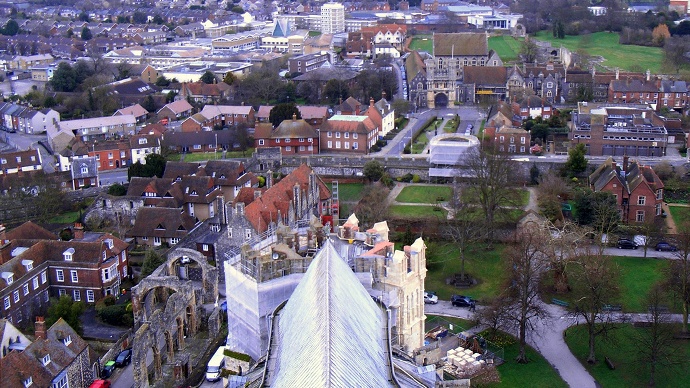 Canterbury City, England, United Kingdom (Photo by Clive Hicks / flickr.com)