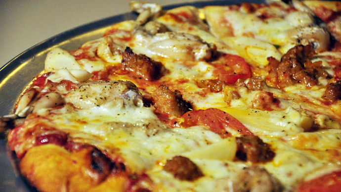 Old slice: 3yo pizzas to give GIs a taste of home