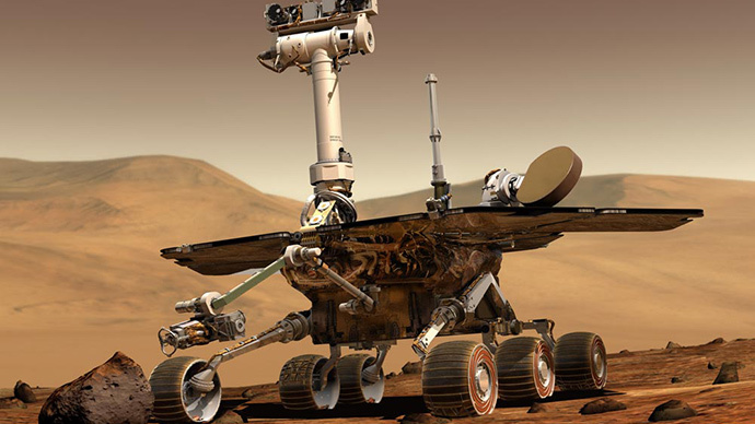 NASA solves Mars rock mystery: 'Oops, our rover ran over it!'
