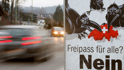 Swiss freeze: EU retaliates as Bern rolls out immigration quotas