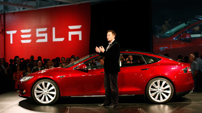 Tesla Motors CEO Elon Musk.(Reuters / Stephen Lam)