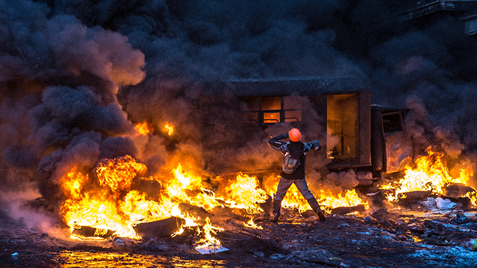 From a sea of flags to rivers of blood: How Kiev's peaceful protests turned into Maidan mayhem