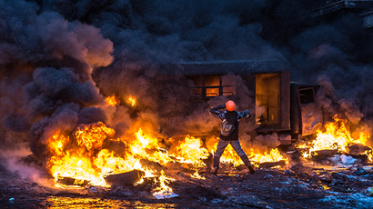 Masks off: Voices from both sides of the Kiev barricades