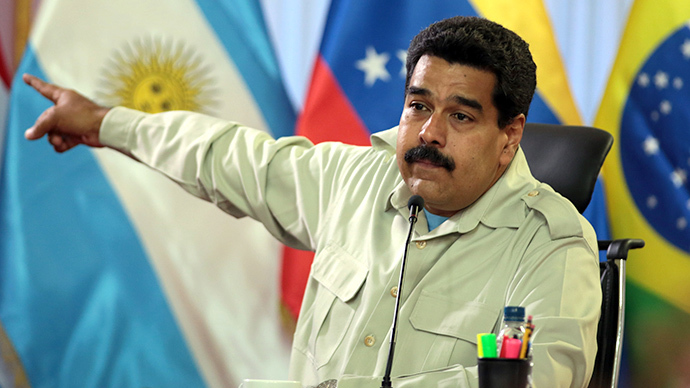 Venezuela's President Maduro accuses Obama of inciting violence