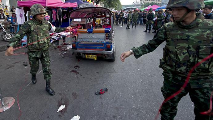 Blast in central Bangkok kills 3, injures 20+ as anti-govt protests gain momentum