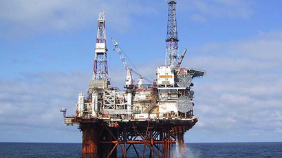 The North Sea oil platform Thistle Alpha (Reuters / Petrofac)