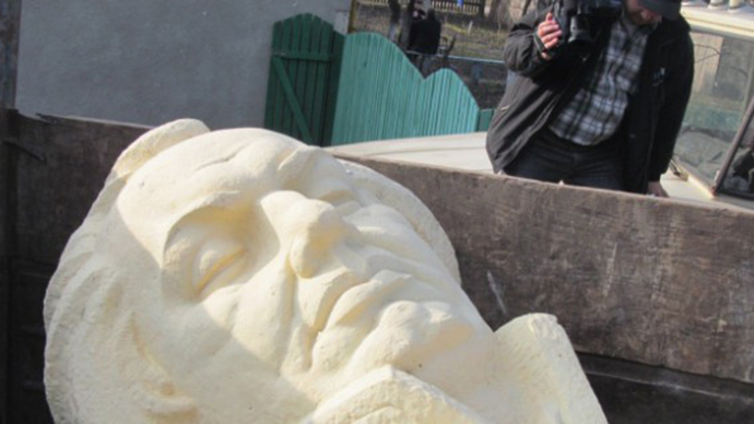 ​Ukrainian city demolishes monument to Russian general who beat Napoleon