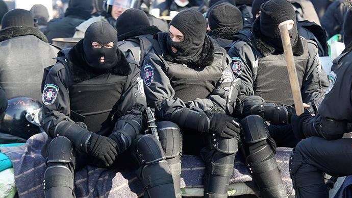 No more Berkut: Ukraine interim govt disbands special security force