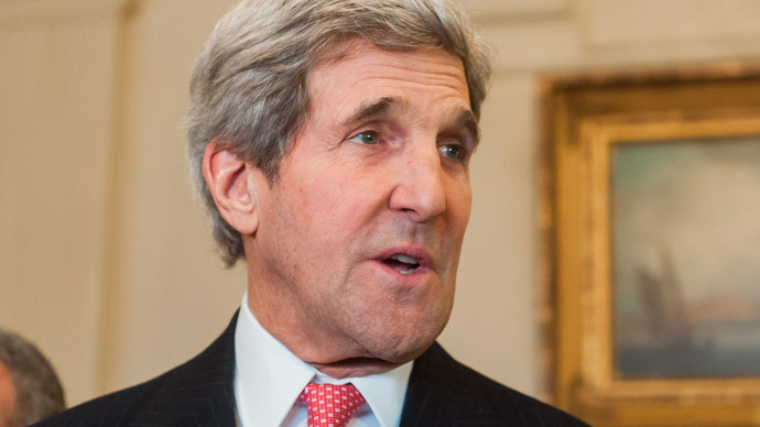 'No Cold War over Ukraine': Kerry calls on Russia to 'respect state sovereignty'