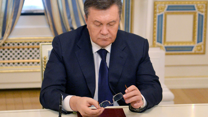 Viktor Yanukovych.(AFP Photo / Sergei Supinsky)