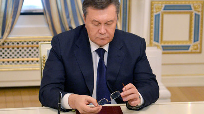 Watch LIVE on RT: Yanukovich to hold press-conference in Southern Russia