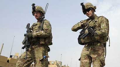 FILE PHOTO. US soldiers from Viper Company (Bravo) 1-26 Infantry in Khost province, east of Afghanistan (AFP Photo / Ted Aljibe)