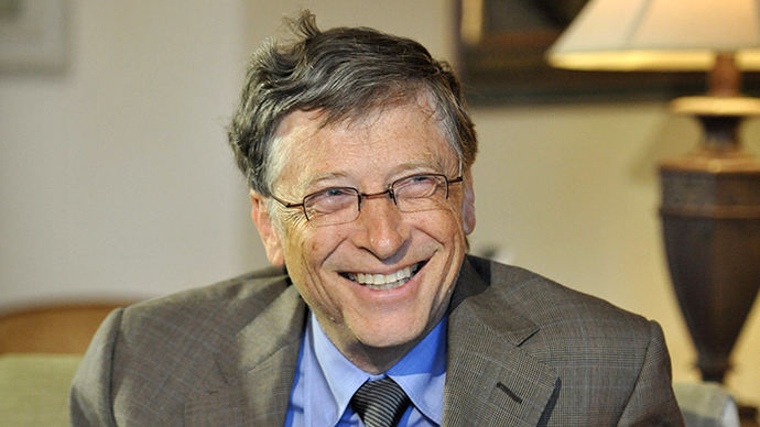Bill Gates (AFP Photo / Mark Graham)