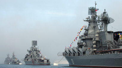FILE PHOTO. Celebration of 230th anniversary of Russian Black Sea Fleet (RIA Novosti / Vasiliy Batanov)