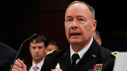 U.S. General Keith Alexander (Reuters / Jason Reed)