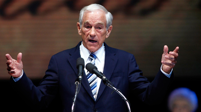 US Congressman Ron Paul (R-TX) (Reuters / Joe Skipper)