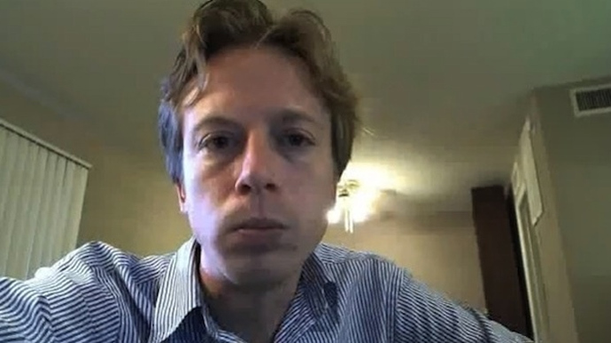 Barrett Brown (Screenshot from youtube.com)