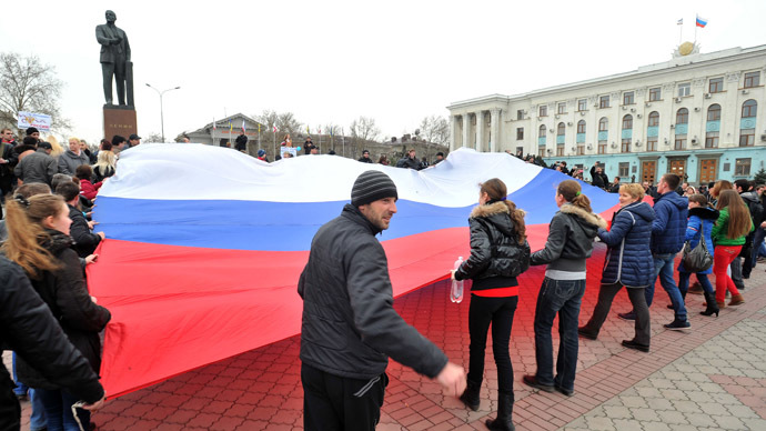 US imposes visa restrictions on Russians, Crimeans who 'threaten Ukraine security'