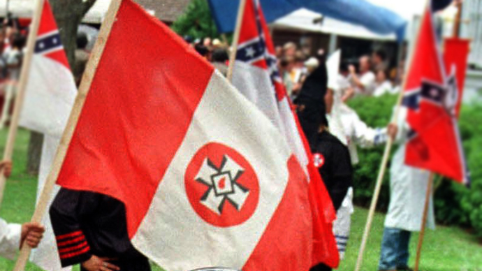 KKK flag on Florida home prompts neighborhood outrage