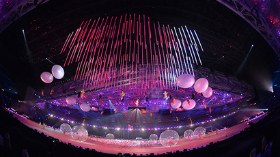 The opening ceremony of the 2014 Paralympic Winter Games in Sochi, March 7, 2014. (RIA Novosti)