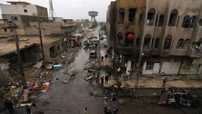 Over 30 Killed 140 Wounded In Iraq Suicide Bombing Rt News