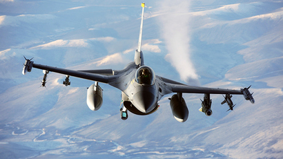 F-16 Fighting Falcon (AFP Photo)