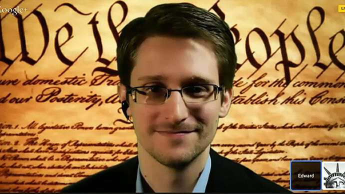 Snowden at SXSW: 'The Constitution was being violated on a massive scale'