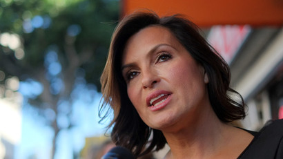 Actress Mariska Hargitay.(AFP Photo / Joe Klamar)