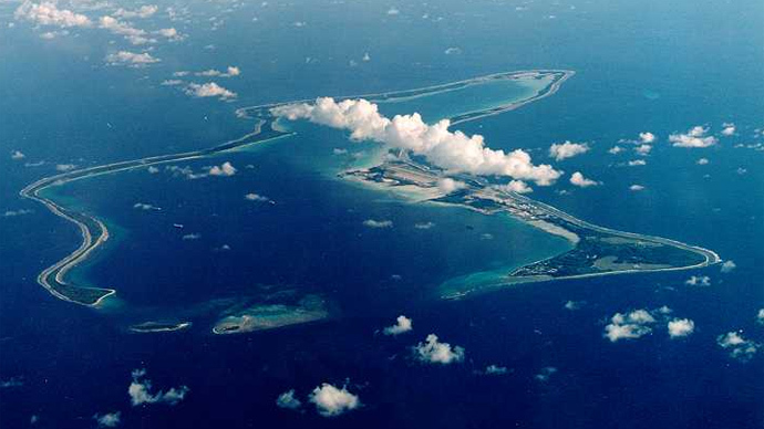 US Navy pollutes islands cleared of natives in order to 'protect environment'