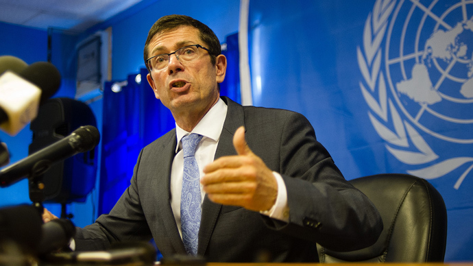 United Nations Assistant Secretary-General for Human Rights Ivan Simonovic (AFP Photo / Phill Moore)