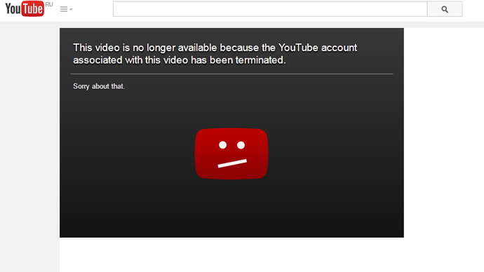youtube account suspended how to get it back