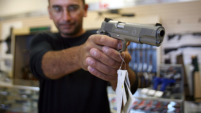 Rush for gun permits following overturn of California firearms law