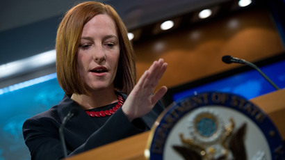 US State Department spokeswoman Jen Psaki.(AFP Photo / Nicholas Kamm)