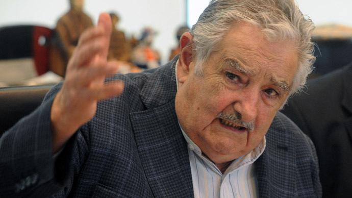 Uruguayan President Jose Mujica (AFP Photo/Miguel Rojo)