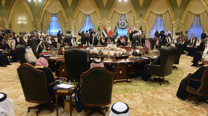 Heads of States of the Gulf Cooperation Council (Reuters)