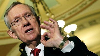 Senate Majority Leader Harry Reid.(AFP Photo / Win McNamee)